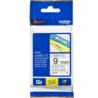 Cinta  Laminada STD 9 mm x 8 Mts TZe-221 BROTHER