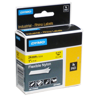 Cinta  de Nylon Flexible 24mm x 3,5Mts 1734525  Rhino Dymo